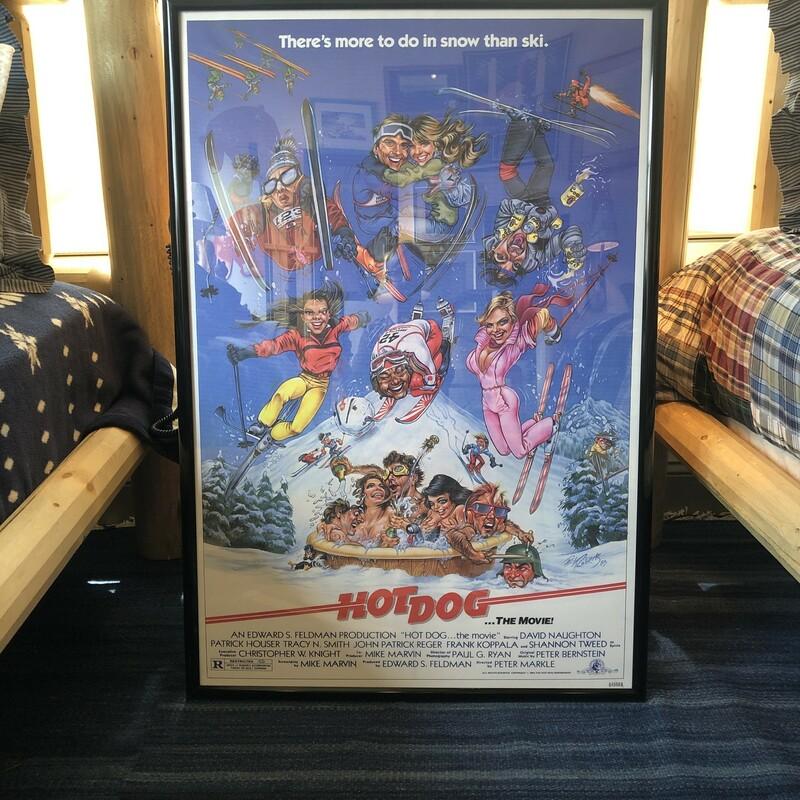 Framed HOT DOG Poster
