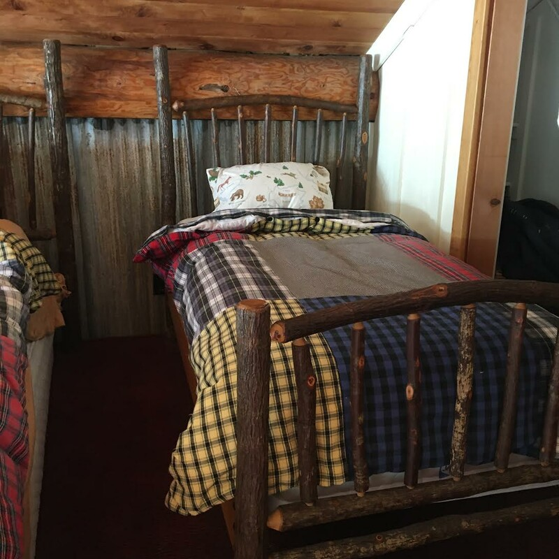 Hickory Twin Bed