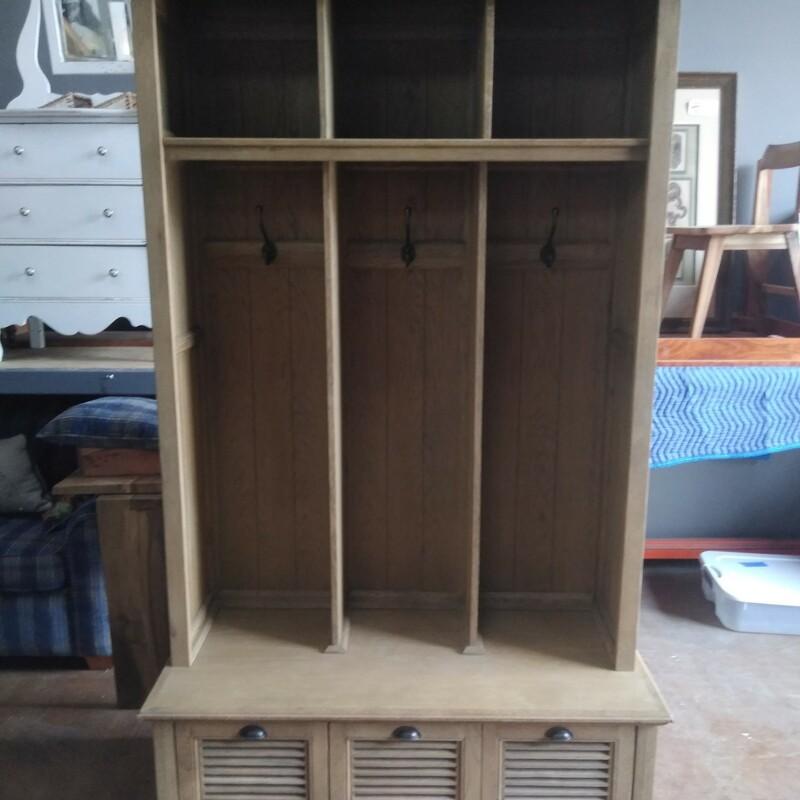 Hall Storage Bench Hutch