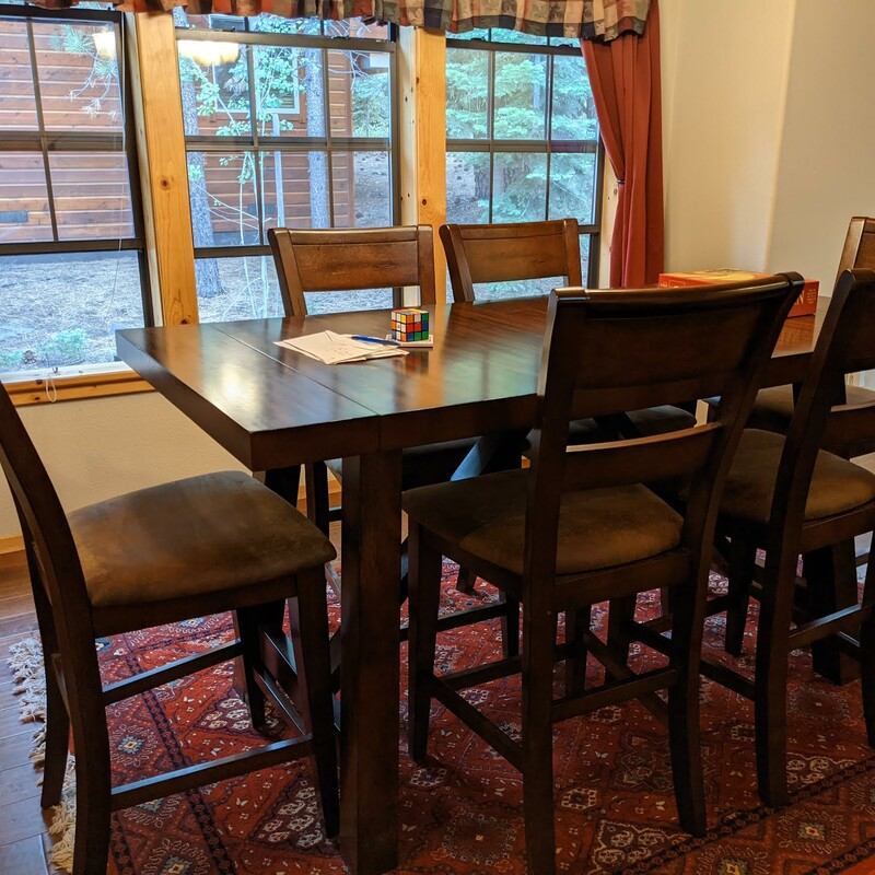 Counter Table/6 Stools/2