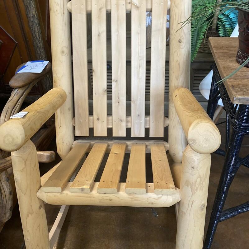 Lodge Pole Rocking Chair