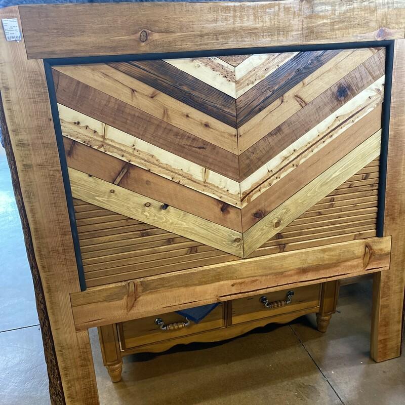 Fir Headboard With Wood