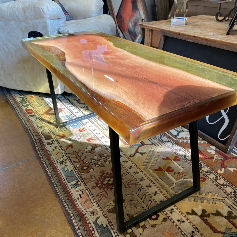 Amber Madrone Coffee Tabl