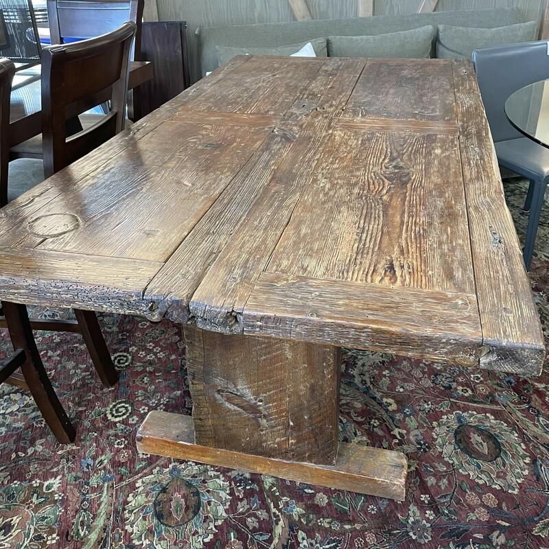 Reclaimed Door Table