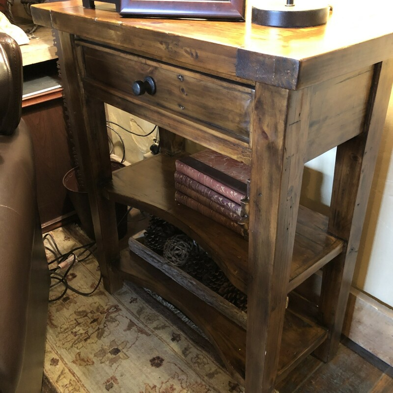 Console Table With 2 Shel