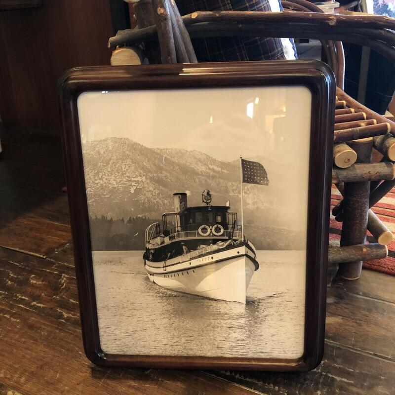 Steamer On Lake Tahoe