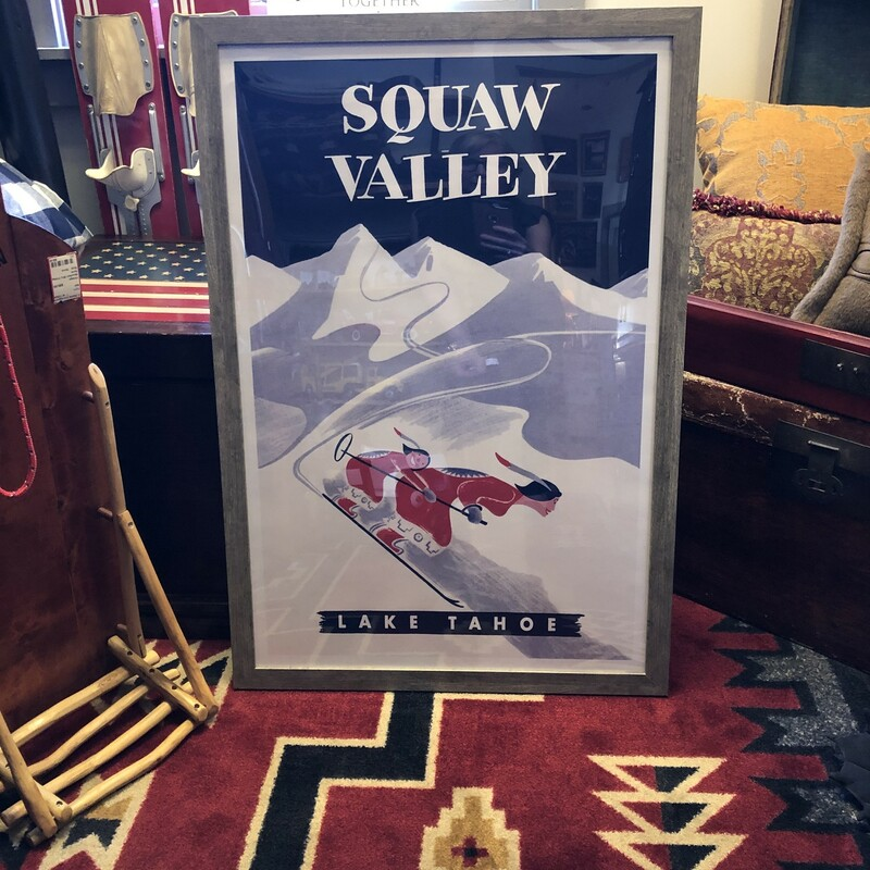 Squaw Valley Poster