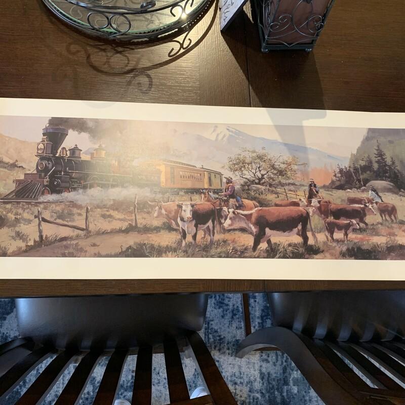 V&T Railroad Print