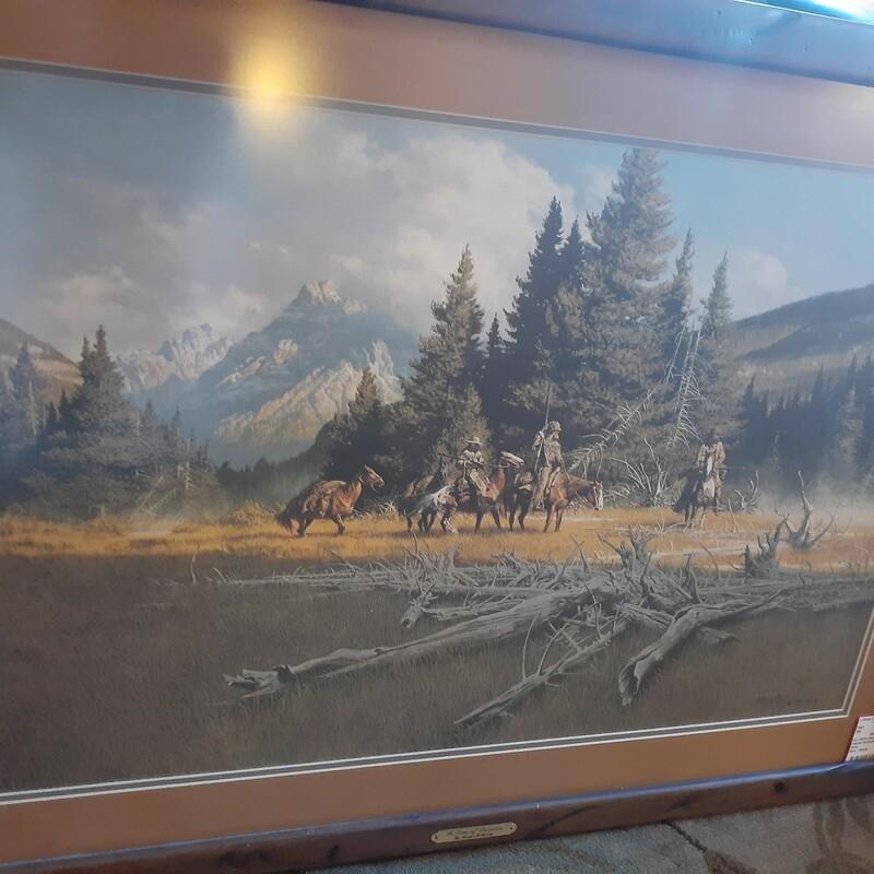 Framed McCarthy Horse Rid
