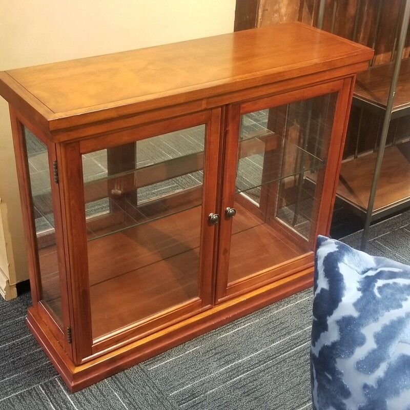 Low Curio Cabinet