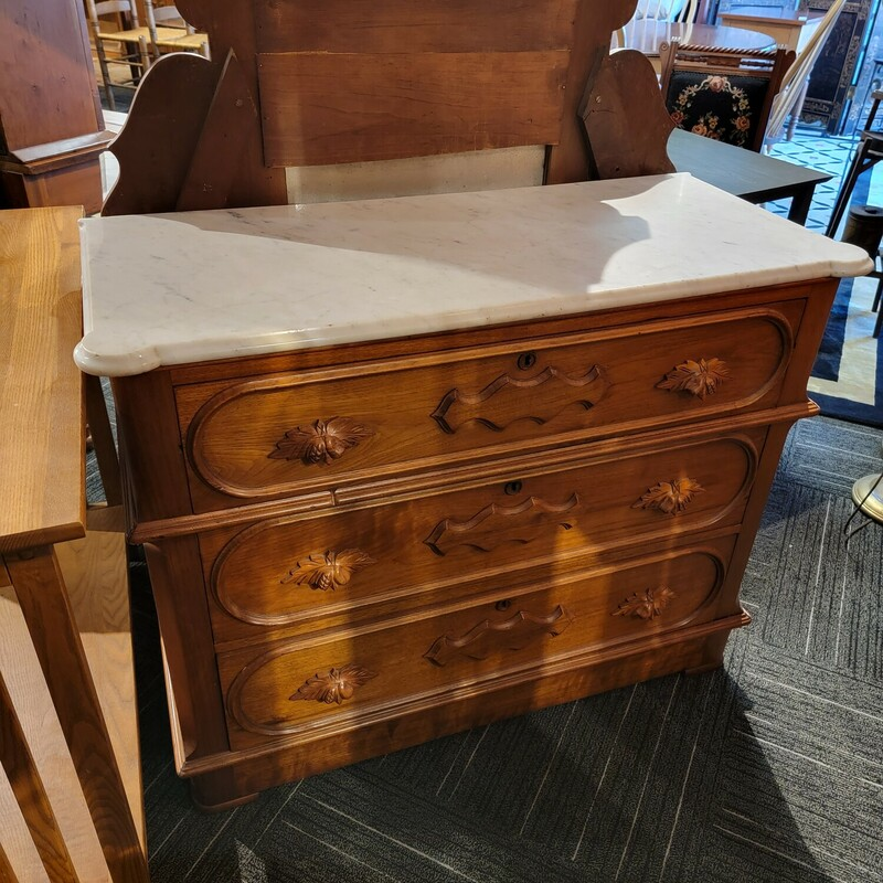 Victorian Marble Top Dres