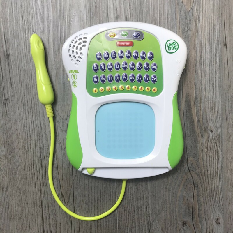 Leap Frog  Scribble & Write , Green, Size: 3Y+ battery included