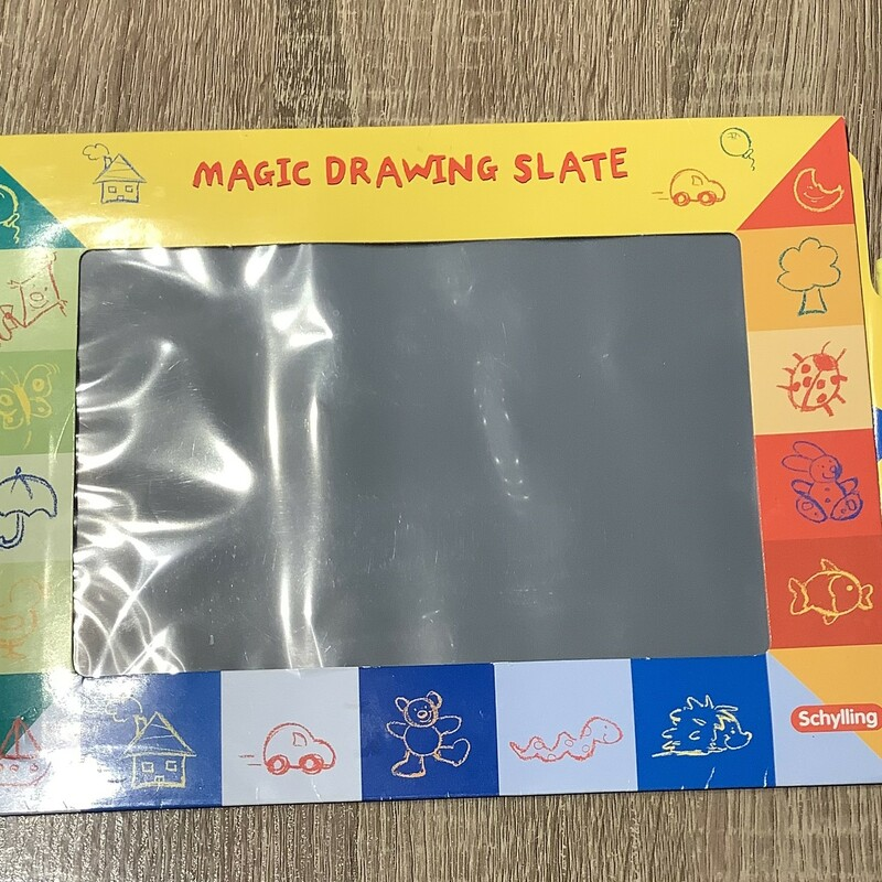 Magic Drawing Slate, Toys, Size: 3Y+