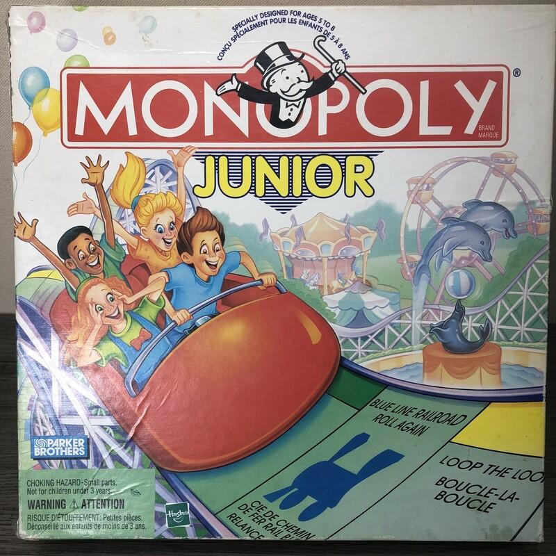 Junnior Monopoly, Multi, Size: 5-8Y