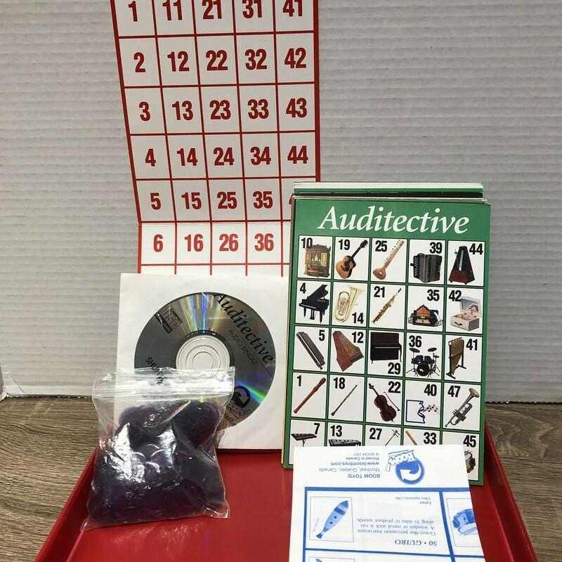 Audio Bingo Game, Multi With CD