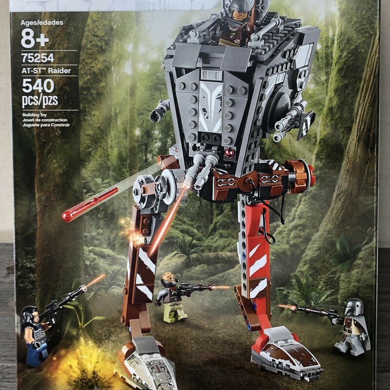 Lego Star Wars - 75254, Multi, Size: 8Years+ as is All Mini Figures Included Book Included