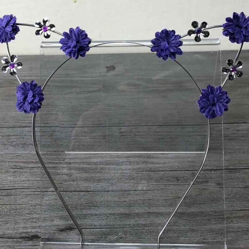 Cat Headband, Purple, Size: One Size