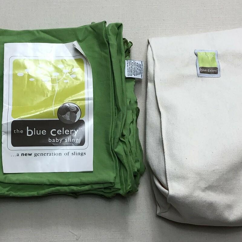 Blue Celery Wrap