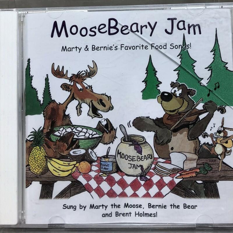 Moosebeary Jam CD