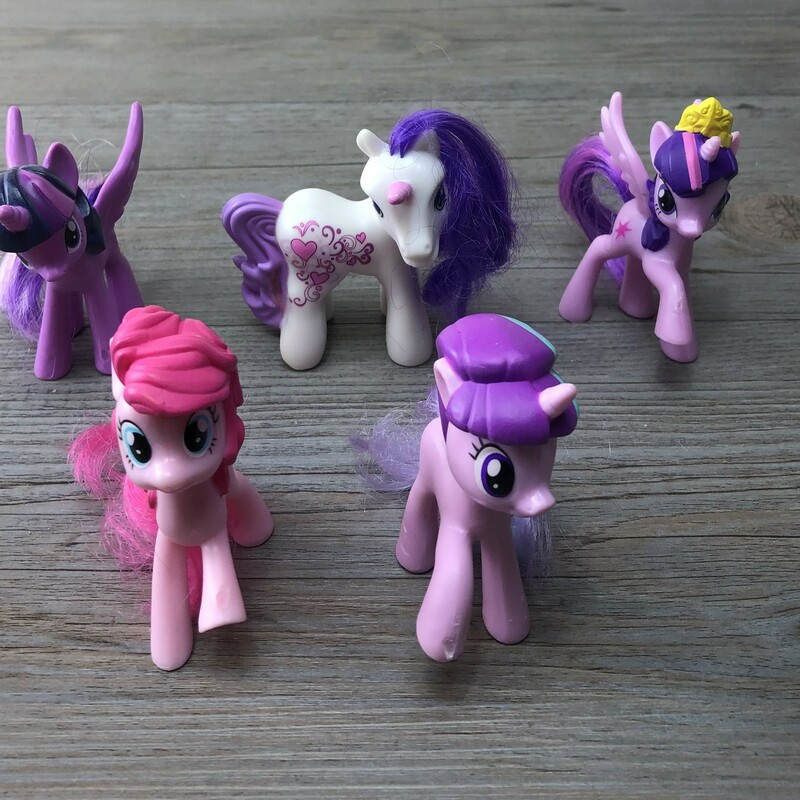 My Little Pony, Multi, Size: 5 Included As is.
