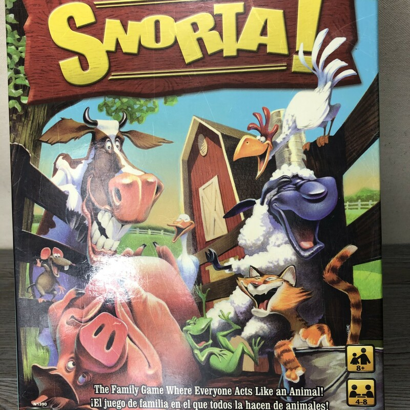 Snorta Game, 4-8 Play, Size: 8+