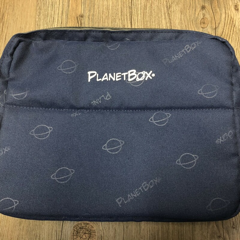 Planet Box Lunch Bag, Blue, Size: New