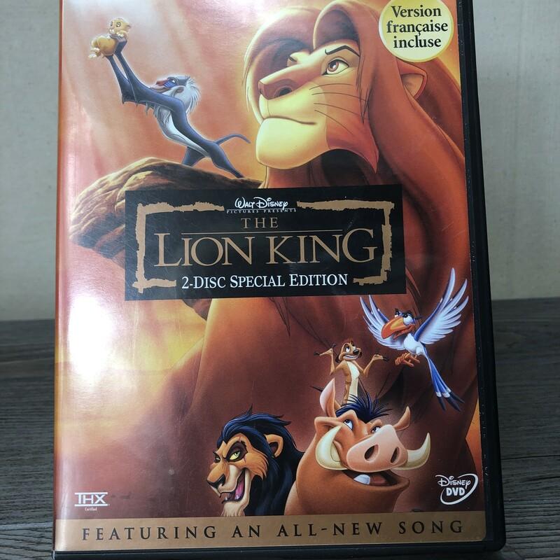 DVD Lion King