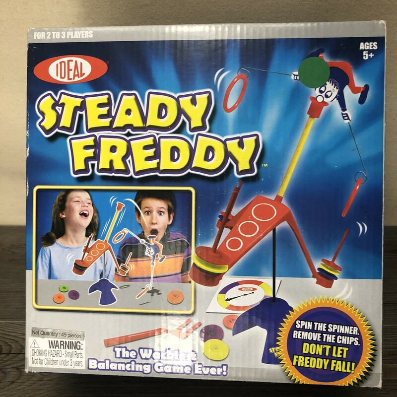 Steady Freddy Game, Multi, Size: New