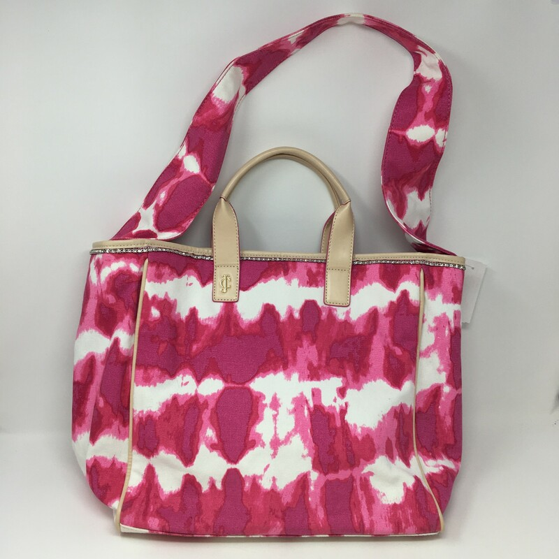 Juicy Couture Tie Dye Tot, Pink, Size: Totes