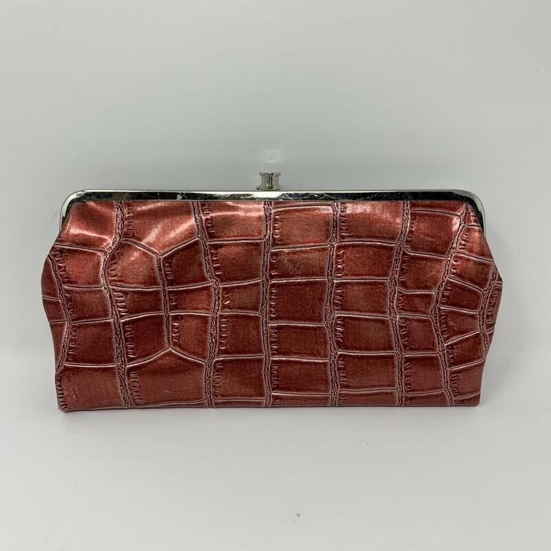Braciano Reptile Skin Clu, Red, Size: Clutches zebra print in the inside