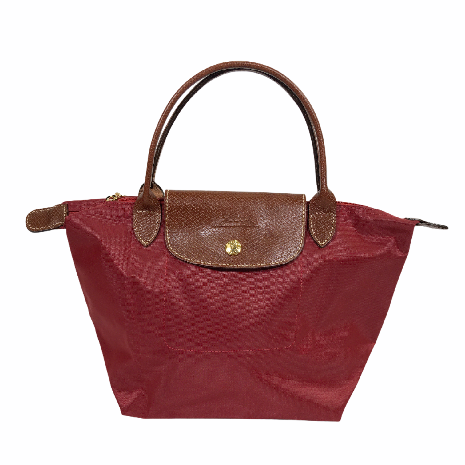 Longchamp Small Shoulder, Red, Size: Totes
