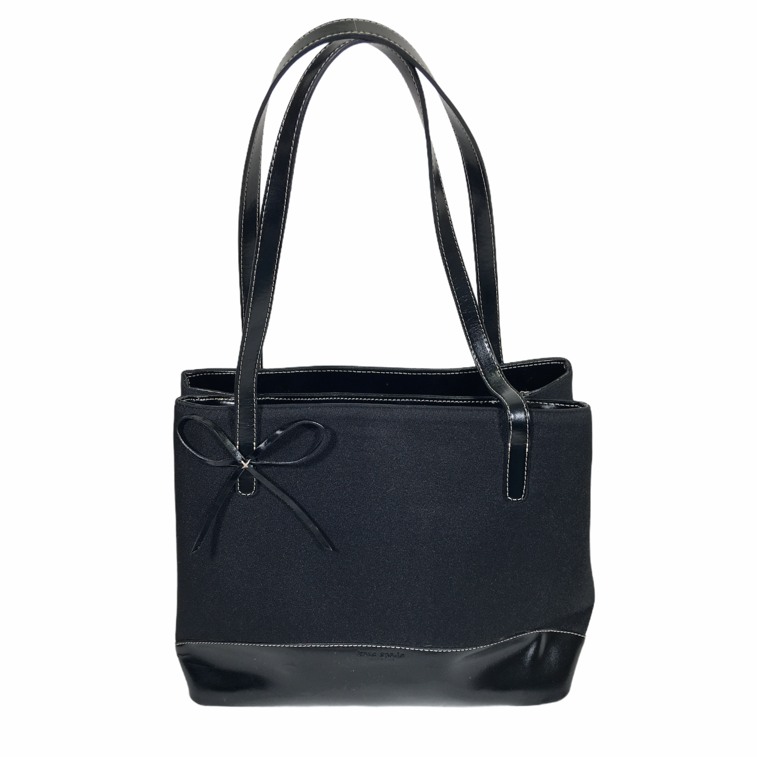 Kate Spade Leather Detail, Black, Size: Designer B