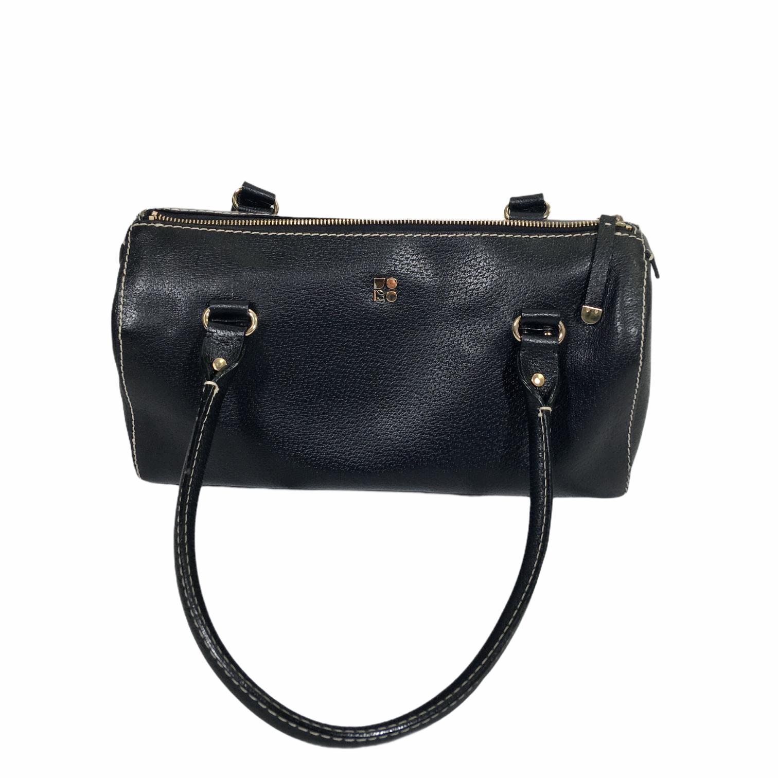 Kate Spade Leather Bag, Black, Size: Designer B serena westbury satchel
