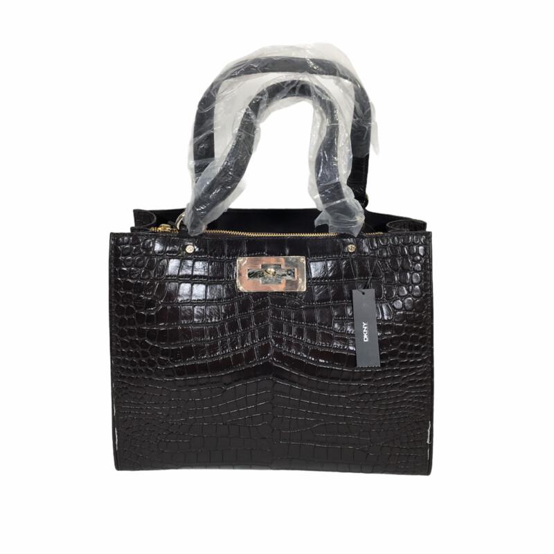 DKNY Croco Leather Purse