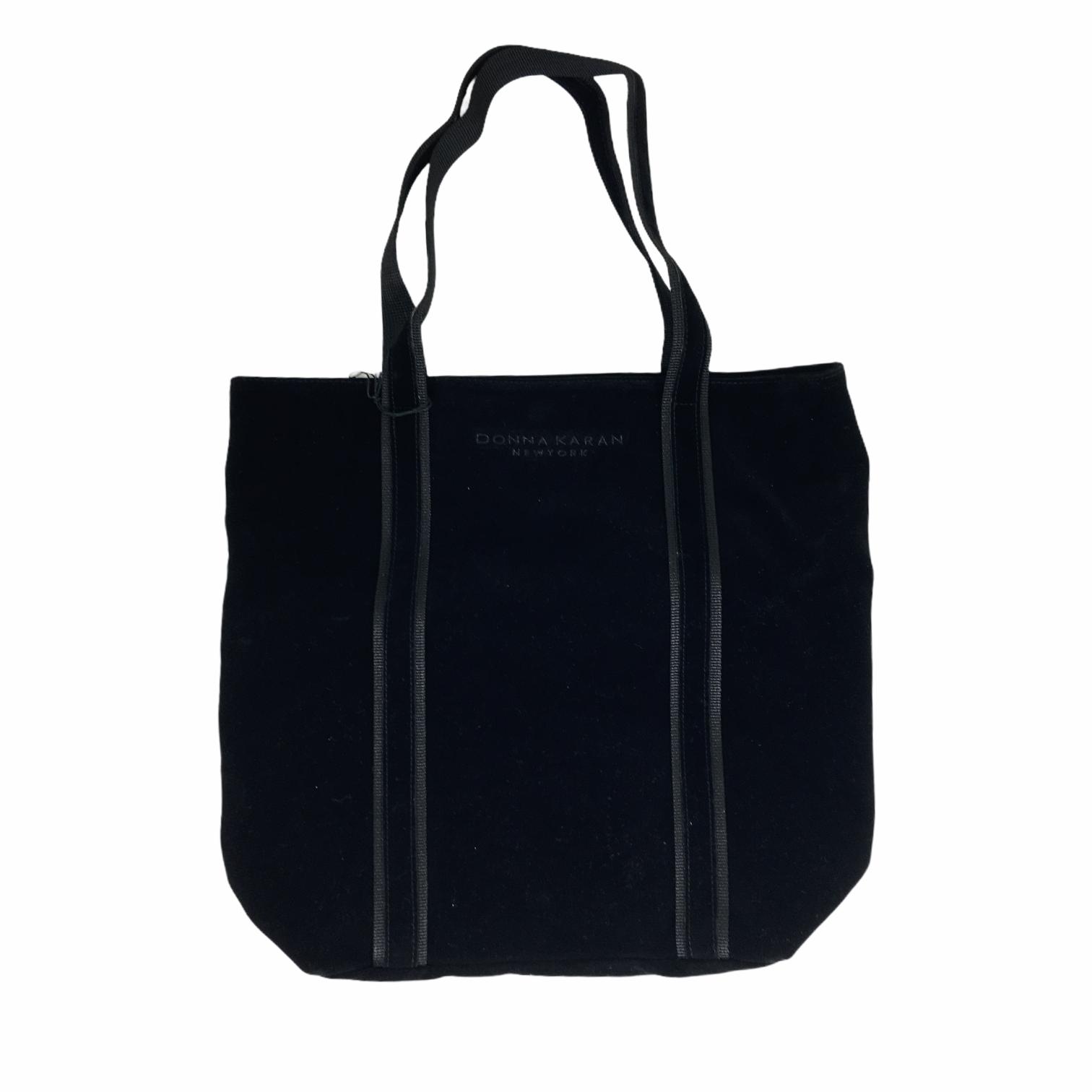 DKNY Velvet Shoulder Bag, Black, Size: Totes