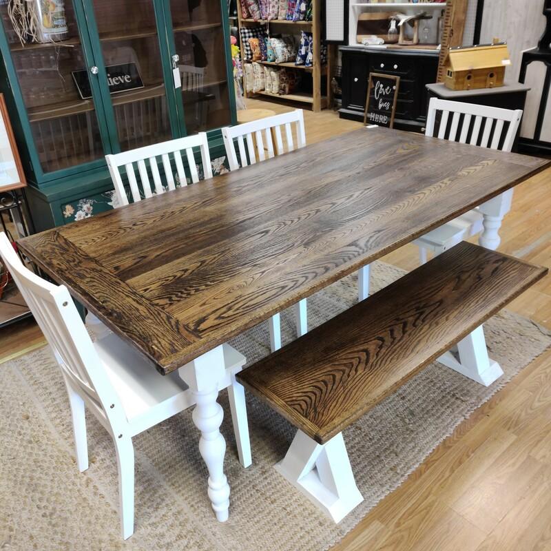 Custom 6ft Farm Table