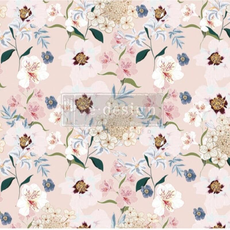 Blush Floral -Decoupage P