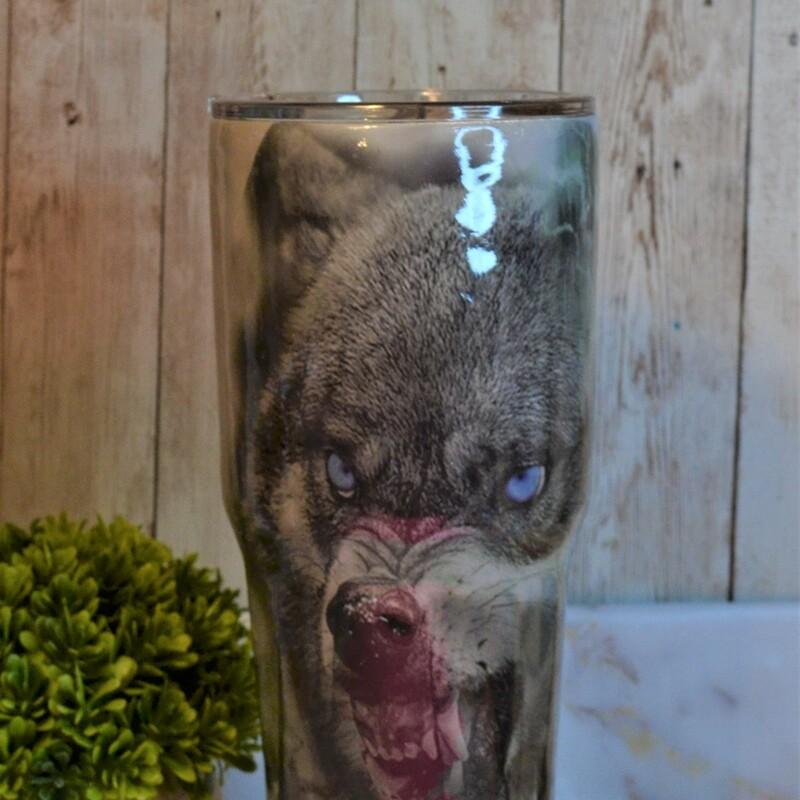 30 Oz Owl/Wolf