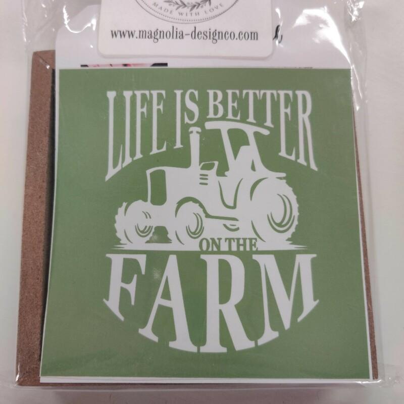 Life Is Better Farm Truck