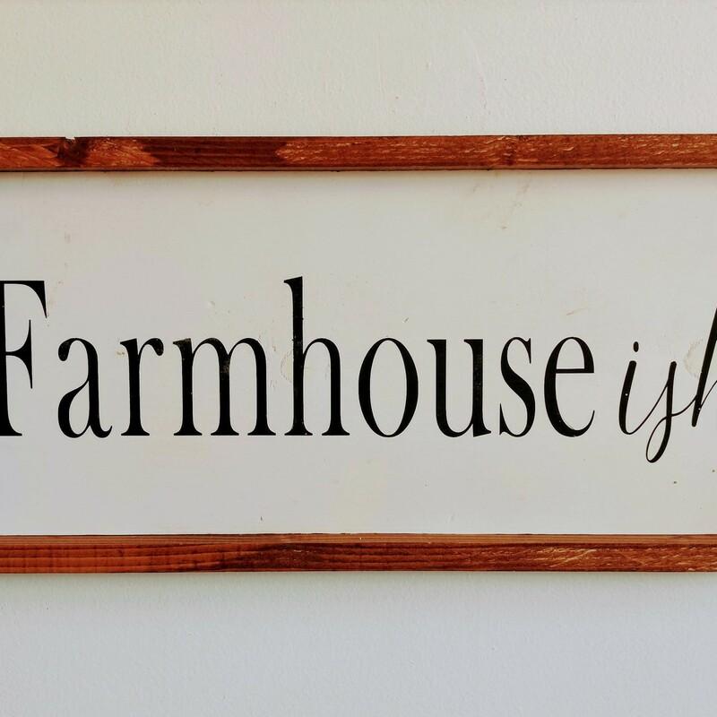 Farm-ish Sign