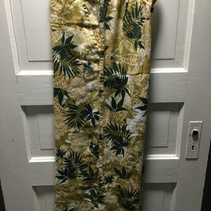 Tahari Palm Trees Linen