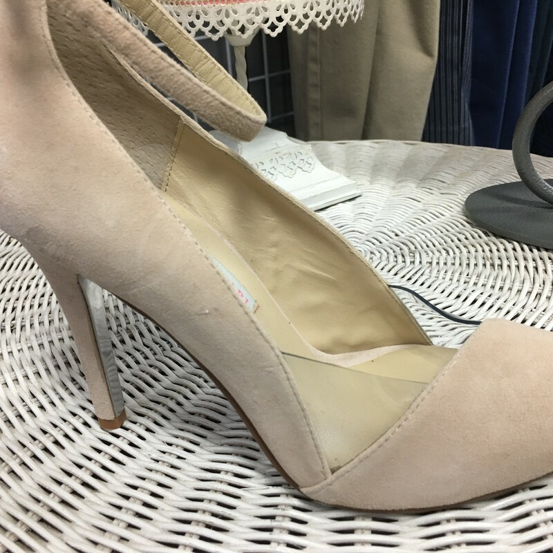 Chinese Laundry Heel New, Nude, Size: 9