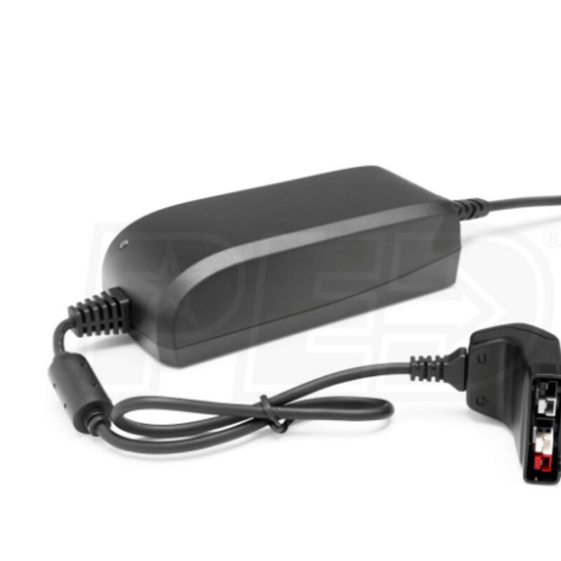 Battery Charger, Husqvarn, Size: QC80 Use For Any Husqvarna Lithium-Ion Batteries Extremely convenient one size fits all design Compact Size There's no dock station to worry about, just a cord Makes this charger very portable and easy to store Compatibility: For use with any Husqvarna Bli lithium-ion battery Will not work with any other branded battery Battery Not Included & Sold Separately
