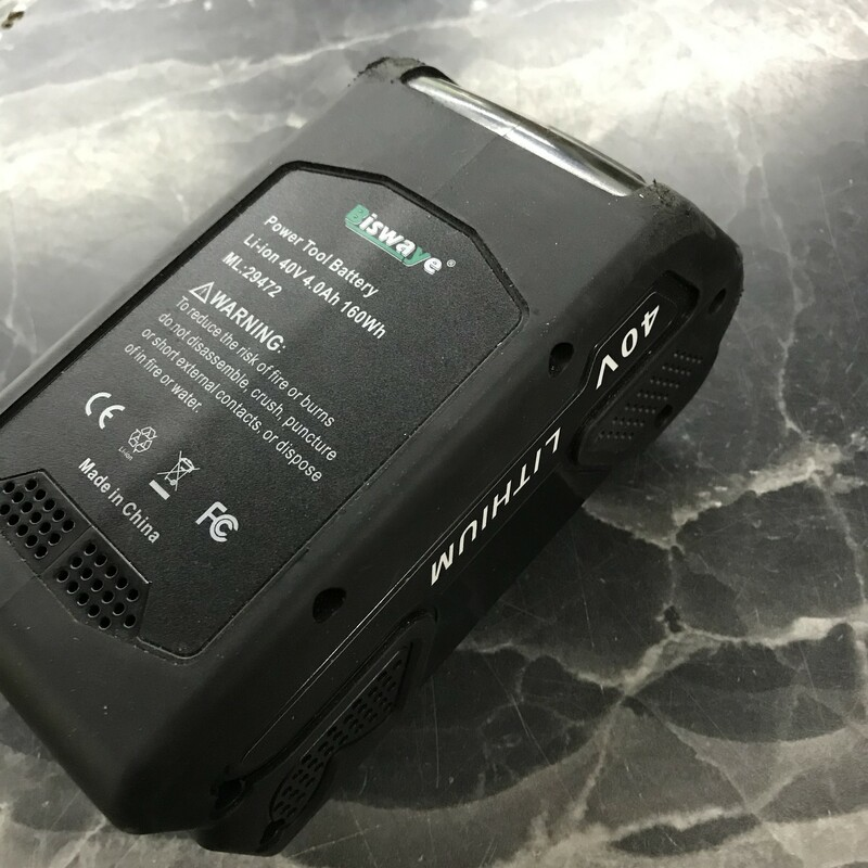 40V Battery, Aftermarket Battery 40V 4aH Li Ion Battery for Greenworks cordless lawn euipment