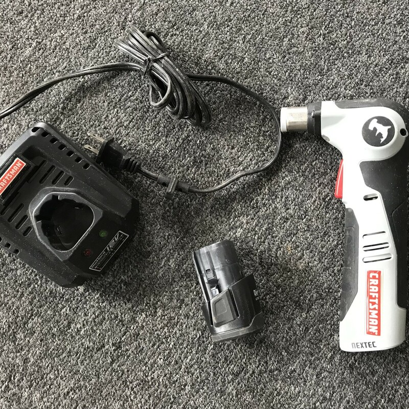 Auto Hammer, 12V Nextex Craftsman Hammer Head with battery and charger
