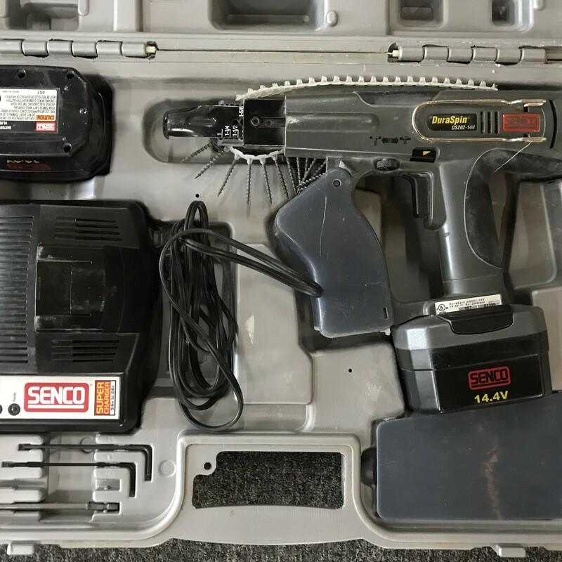 Auto Feed Screw Gun, Senco,  DS202-14V