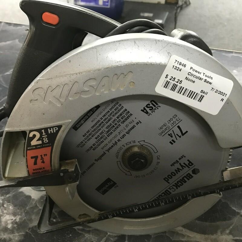 Circular Saw, Size: 7.25in Skil 2-1/8 HP