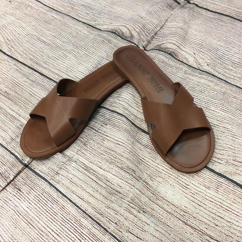Gianni Bini Leather Sandles Size 9