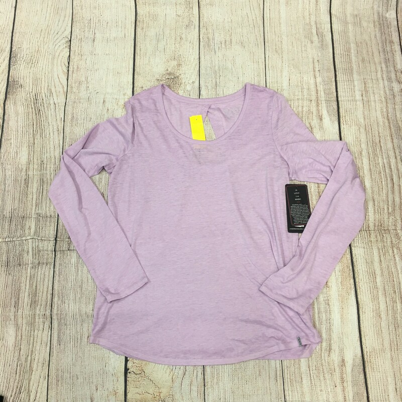 New with tags New York Co Top, Purple has a peekaboo hole in back, Size: Small