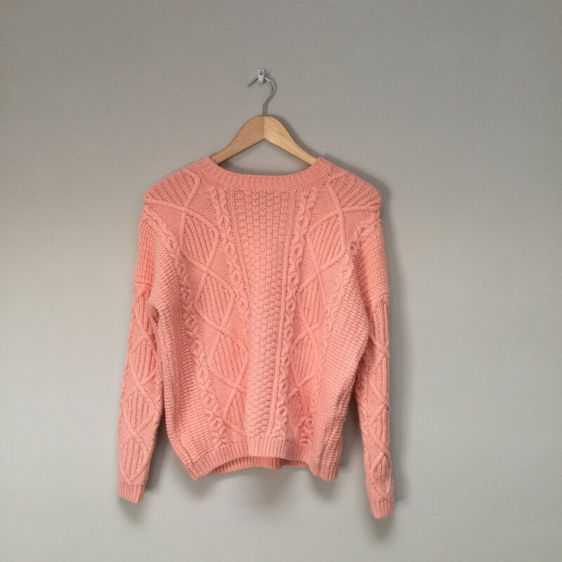 Topshop Cable Sweater
